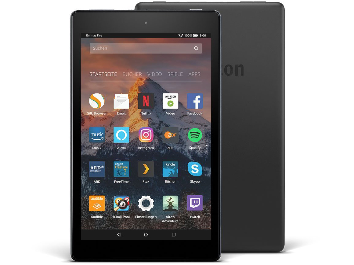 amazon fire 8 hd español
