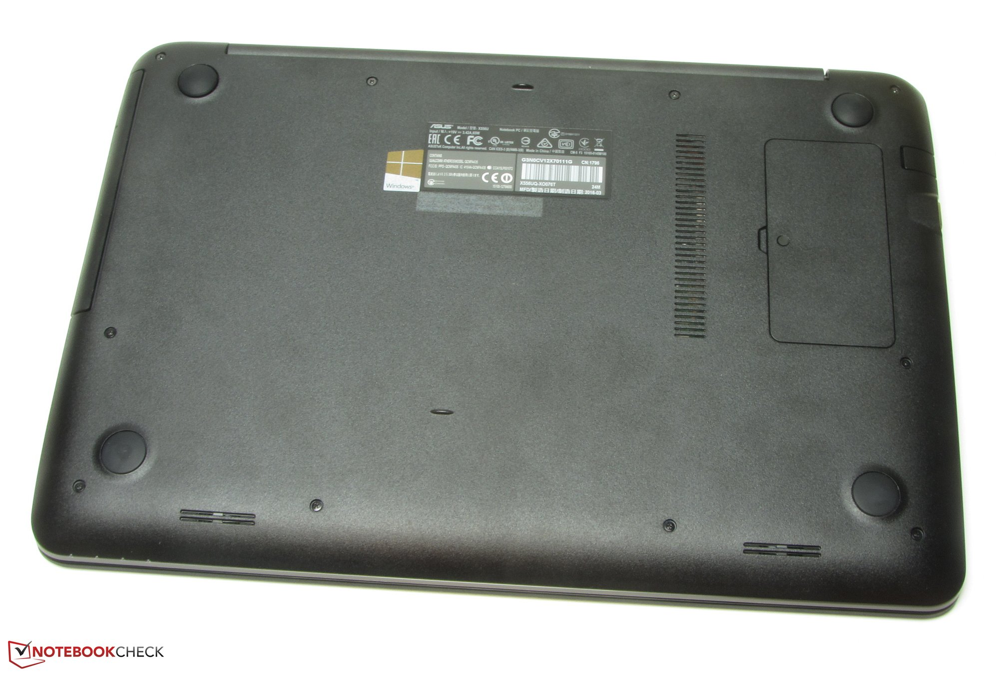 华硕VivoBook X556UQ-XO076T 笔记本电脑简短评测- Notebookcheck