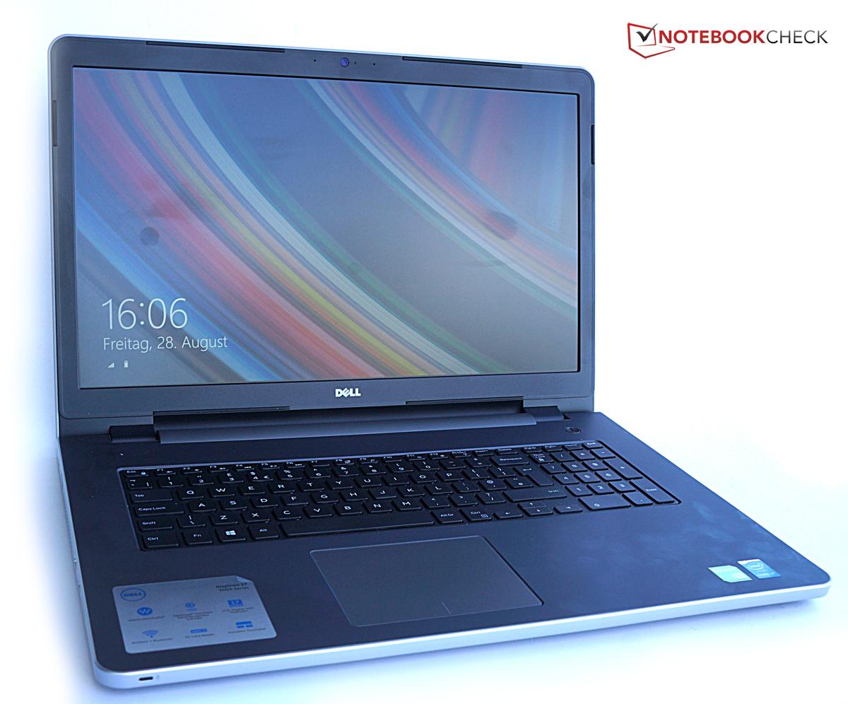 戴尔高端商务笔记本_戴尔 Inspiron 17-5758 笔记本电脑简短评测 - Notebookcheck