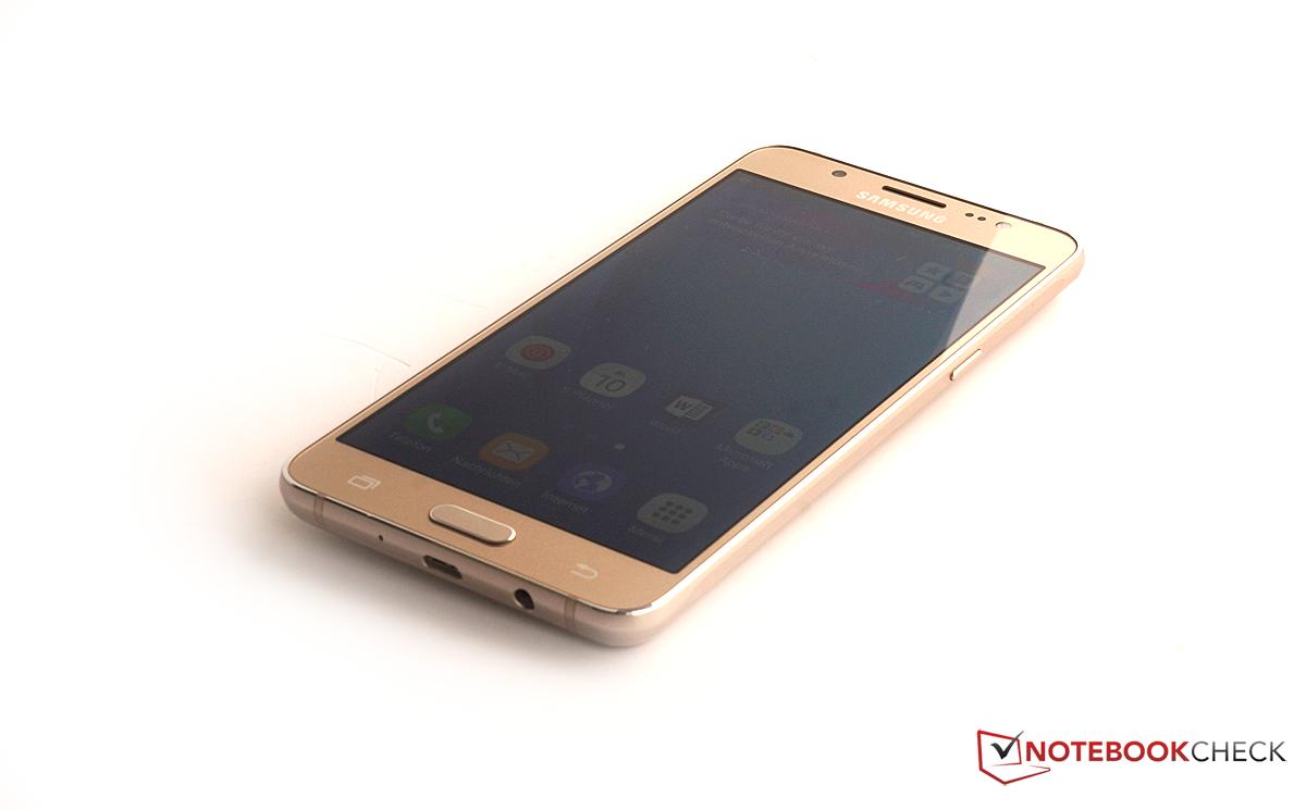 三星 Galaxy J5 2016 智能手机简短评测 Notebookcheck