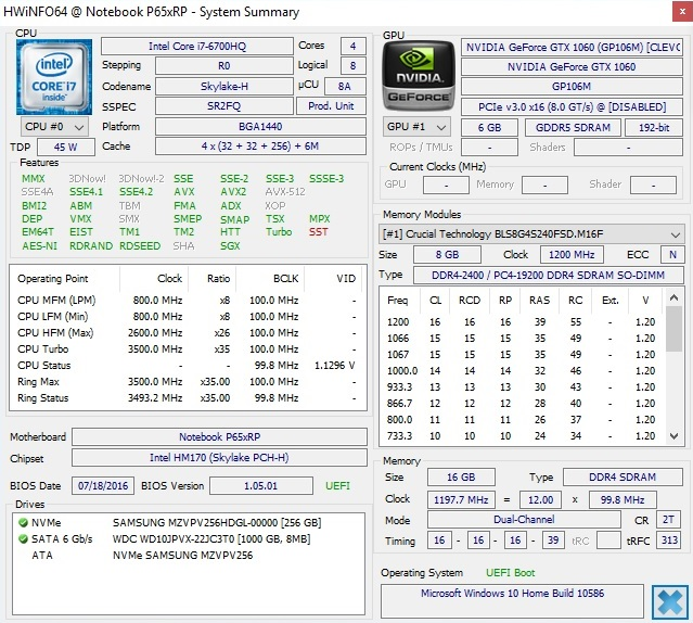 Schenker XMG P507 (Clevo P651RP6-G) 笔记本电脑简短评测- Notebookcheck