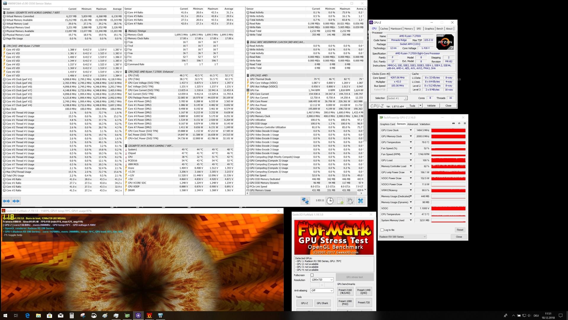 XFX讯景RX590 8G黑狼游戏显卡OC版评测- Notebookcheck