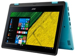 The Acer Spin1 SP111-31-C79E, provided by notebooksbilliger.de