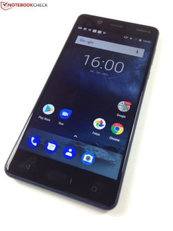 In the test: Nokia 5. Test unit provided by cyberport
