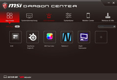 MSI Dragon Center, APP-Portal