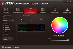MSI Dragon Center, LED-Assistent