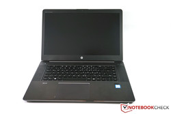 In review: HP ZBook Studio G3. Test model courtesy of HP Germany.