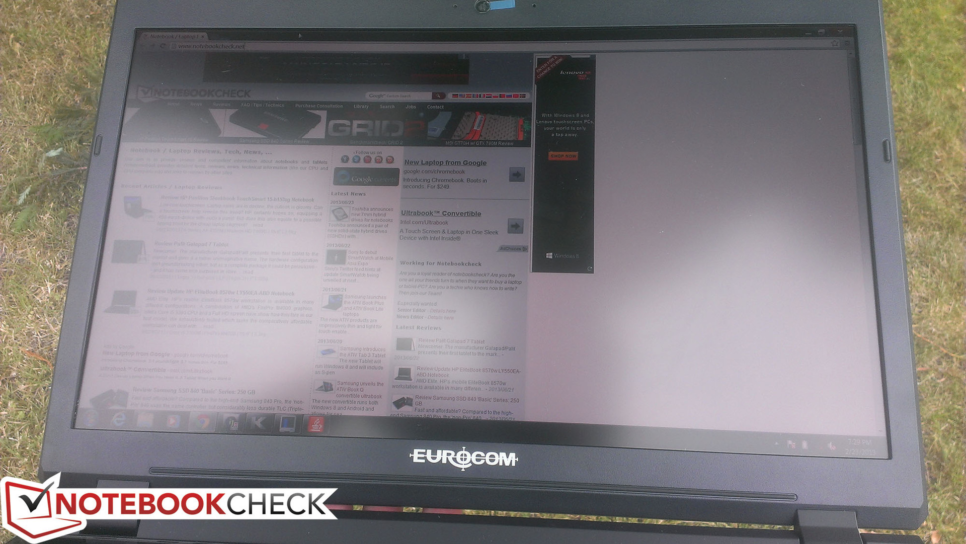 EUROCOM X3(蓝天P157SM)笔记本测评 - Notebookcheck