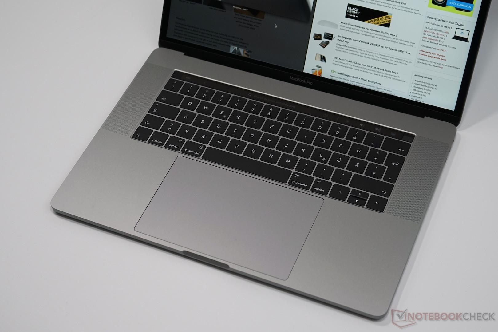 Apple MacBook Pro 15 (2016年末, 2 6 GHz i7) 笔记本电脑简短评测