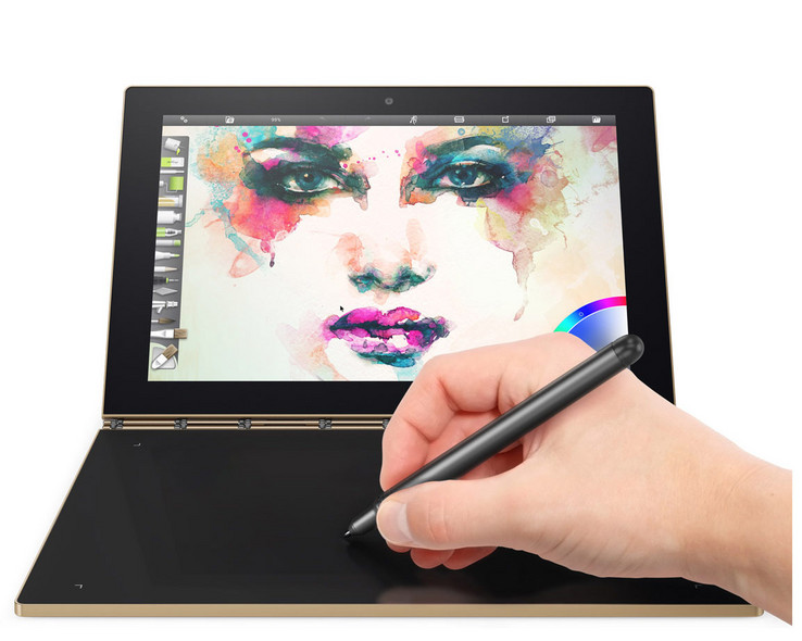 Creative pad: Lenovo Yoga Book 64GB LTE