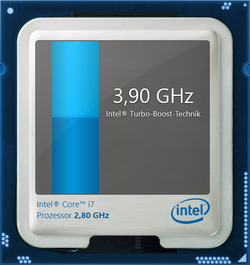 Maximum Turbo Boost (1 and 2 cores): 3.9 GHz