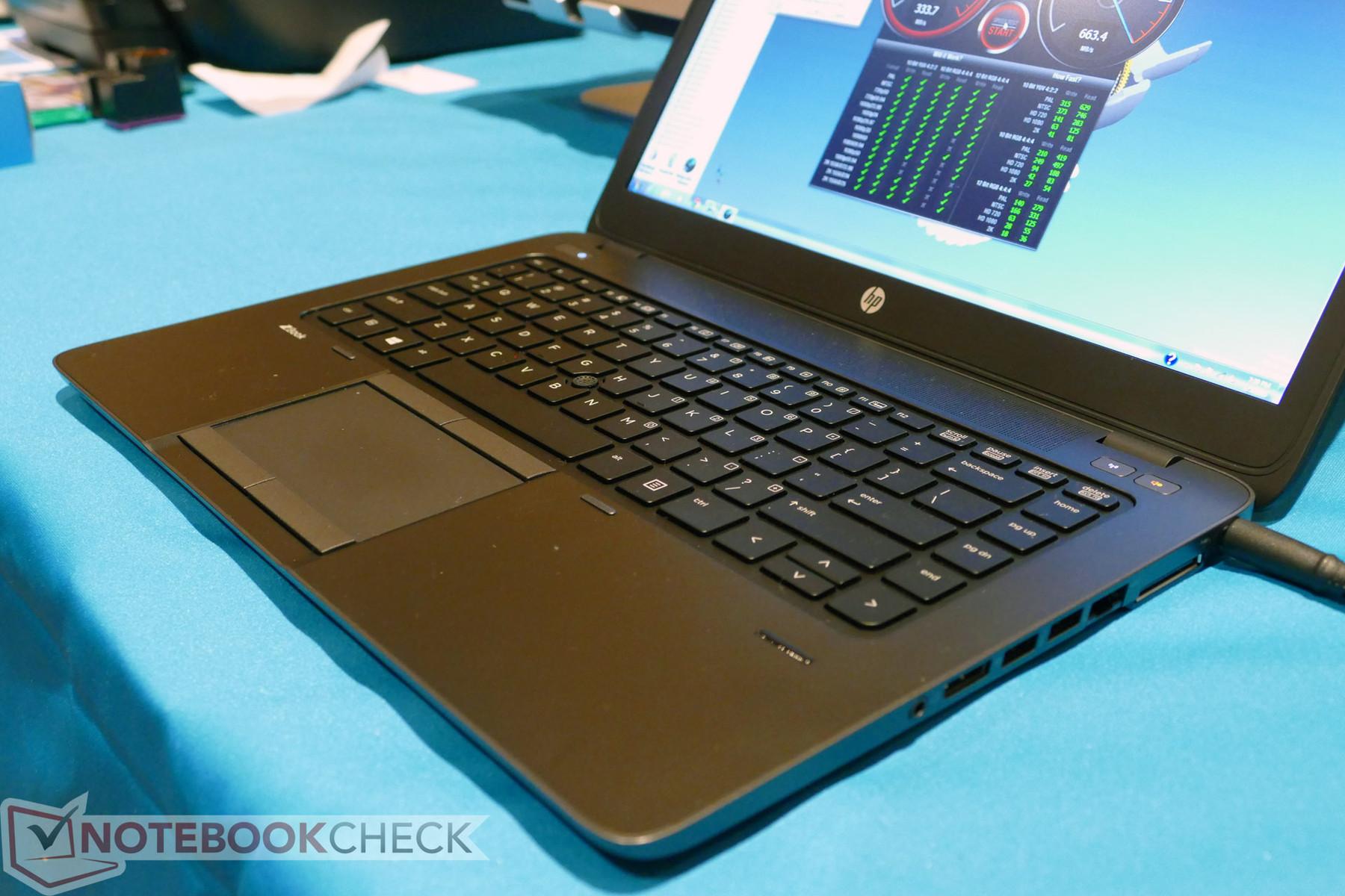 HP ZBook 14 系列 - Notebookcheck